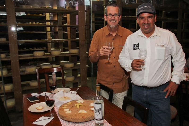 Dave Miller, Marcelo Castro, La Cava de Marcelo, Ensenada, Foodie Tours