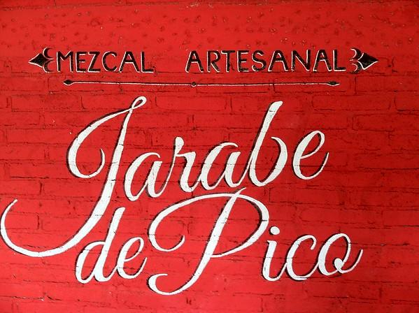 Mezcal, Jarabe de Pico, Dave Millers Mexico, Mezcal Reviews