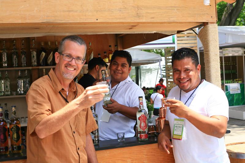 Real Matlatl, Mezcal, Dave Millers Mexico, Dave Miller, Feria del Mezcal